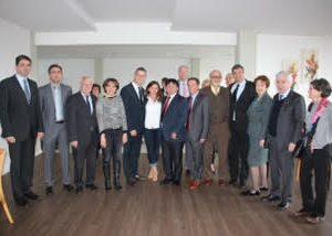Mio Stojkovic Vorsitzender des Zentralrats der Serben in Hessen